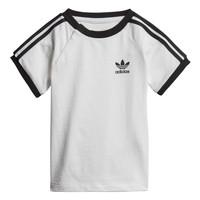 Textil Děti Trička s krátkým rukávem adidas Originals DV2824 Bílá