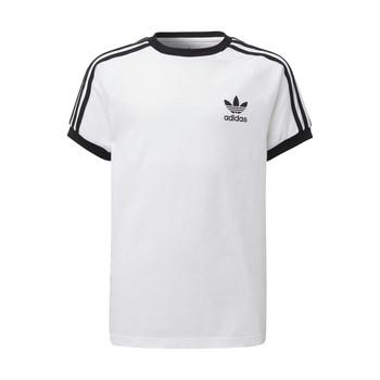 Textil Děti Trička s krátkým rukávem adidas Originals DV2901 Bílá