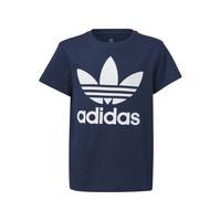 Textil Děti Trička s krátkým rukávem adidas Originals GD2679 Modrá