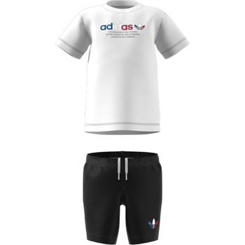 Textil Děti Set adidas Originals GN7413 Bílá