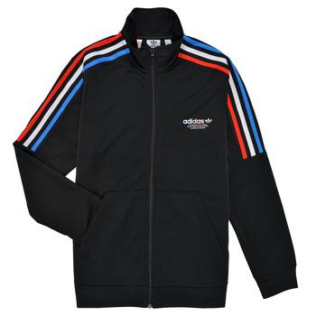 Textil Děti Teplákové bundy adidas Originals GN7482 Černá