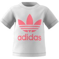 Textil Děti Trička s krátkým rukávem adidas Originals GN8175 Bílá