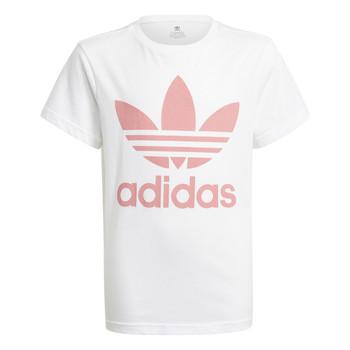 Textil Děti Trička s krátkým rukávem adidas Originals GN8213 Bílá