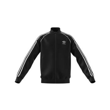 Textil Děti Teplákové bundy adidas Originals GN8451 Černá