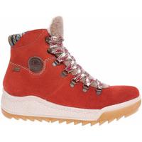 Boty Ženy Polokozačky Rieker Dámská kotníková obuv  Y4741-38 orange Oranžová