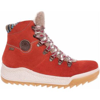 Rieker Zimní boty Dámská kotníková obuv Y4741-38 orange - Oranžová