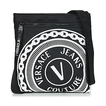 Taška Muži Malé kabelky Versace Jeans Couture SOLEDA Černá / Bílá