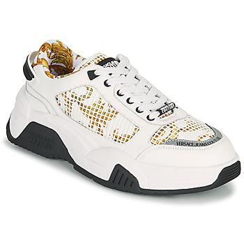 Boty Muži Nízké tenisky Versace Jeans Couture HATINA Bílá / Zlatá