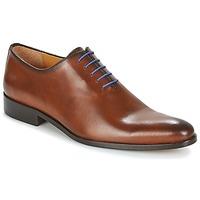 Boty Muži Šněrovací společenská obuv Brett & Sons AGUSTIN Zlatohnědá