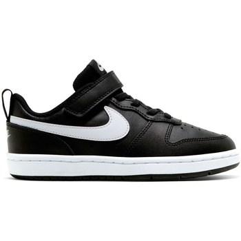 Boty Děti Nízké tenisky Nike Court Borough Low 2 Psv Černé