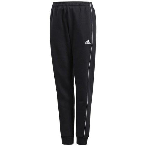 Textil Chlapecké Teplákové kalhoty adidas Originals JR Core 18 Černé