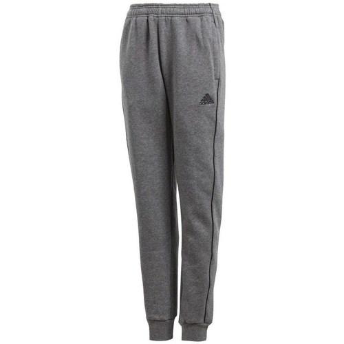 Textil Chlapecké Teplákové kalhoty adidas Originals JR Core 18 Šedé