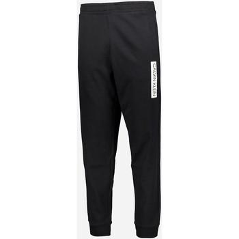 Textil Muži Teplákové kalhoty Calvin Klein Jeans 00GMT0P706 Černá