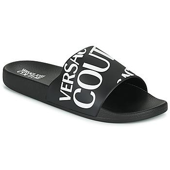 Boty Muži pantofle Versace Jeans Couture TENNIA Černá / Bílá