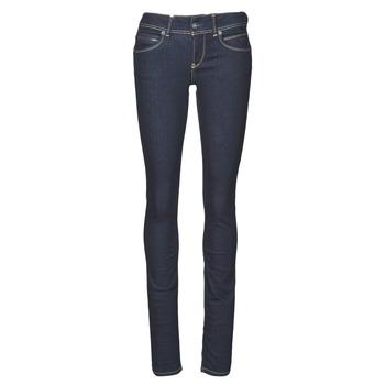 Textil Ženy Rifle slim Pepe jeans NEW BROOKE Modrá
