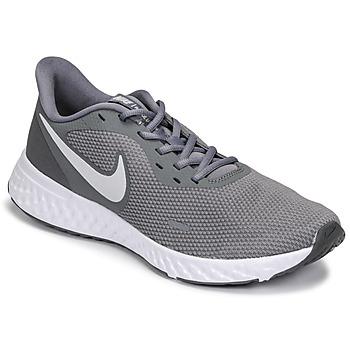 Boty Muži Běžecké / Krosové boty Nike REVOLUTION 5 Šedá