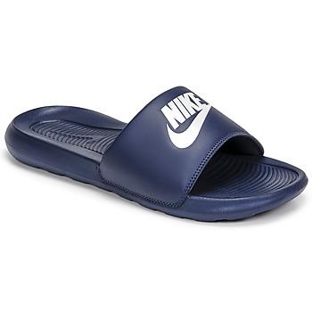 Boty Muži pantofle Nike VICTORI BENASSI Modrá