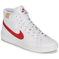 Boty Muži Nízké tenisky Nike COURT ROYALE 2 MID Bílá / Červená