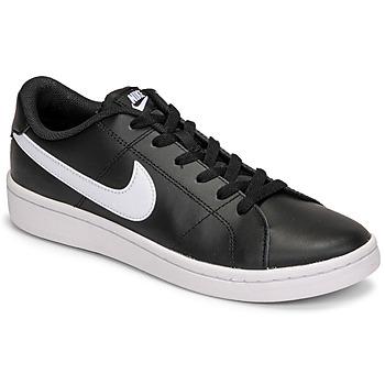 Boty Muži Nízké tenisky Nike COURT ROYALE 2 LOW Černá / Bílá