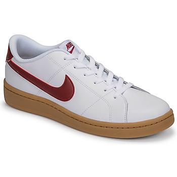 Boty Muži Nízké tenisky Nike COURT ROYALE 2 LOW Bílá / Červená
