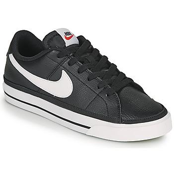 Boty Ženy Nízké tenisky Nike COURT LEGACY Černá / Bílá