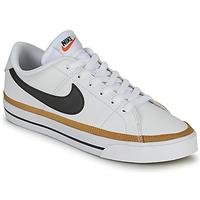 Boty Ženy Nízké tenisky Nike COURT LEGACY Bílá / Modrá