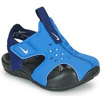 Boty Chlapecké pantofle Nike SUNRAY PROTECT 2 TD Modrá