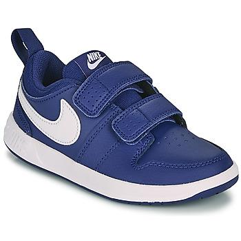 Boty Chlapecké Nízké tenisky Nike PICO 5 PS Modrá / Bílá