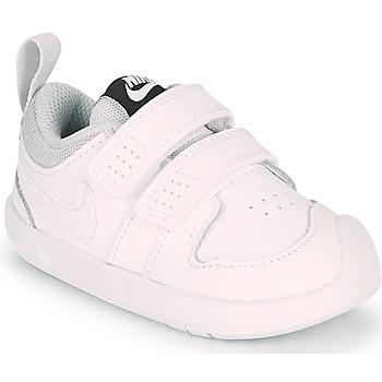 Boty Děti Nízké tenisky Nike PICO 5 TD Bílá