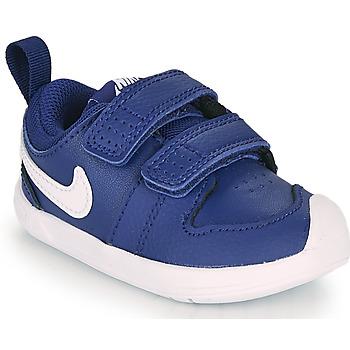 Boty Chlapecké Nízké tenisky Nike PICO 5 TD Modrá / Bílá