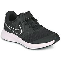 Boty Děti Multifunkční sportovní obuv Nike STAR RUNNER 2 PS Černá / Bílá