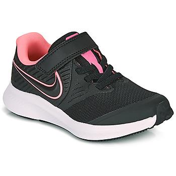 Boty Dívčí Multifunkční sportovní obuv Nike STAR RUNNER 2 PS Černá / Růžová