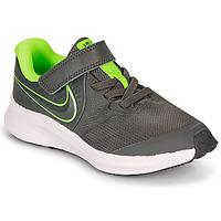 Boty Chlapecké Multifunkční sportovní obuv Nike STAR RUNNER 2 PS Šedá / Zelená