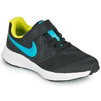 Boty Chlapecké Multifunkční sportovní obuv Nike STAR RUNNER 2 PS Černá / Modrá