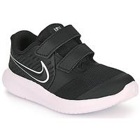 Boty Děti Multifunkční sportovní obuv Nike STAR RUNNER 2 TD Černá / Bílá
