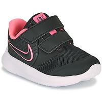 Boty Dívčí Multifunkční sportovní obuv Nike STAR RUNNER 2 TD Černá / Růžová