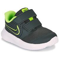 Boty Chlapecké Multifunkční sportovní obuv Nike STAR RUNNER 2 TD Černá / Zelená