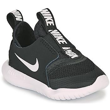 Boty Děti Multifunkční sportovní obuv Nike FLEX RUNNER TD Černá / Bílá