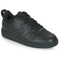 Boty Děti Nízké tenisky Nike COURT BOROUGH LOW 2 GS Černá