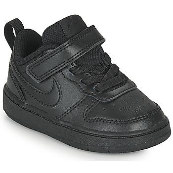 Boty Děti Nízké tenisky Nike COURT BOROUGH LOW 2 TD Černá
