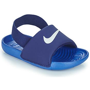 Boty Chlapecké pantofle Nike NIKE KAWA TD Modrá