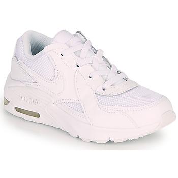 Boty Děti Nízké tenisky Nike AIR MAX EXCEE PS Bílá