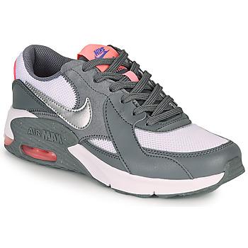 Boty Dívčí Nízké tenisky Nike AIR MAX EXCEE GS Šedá / Růžová
