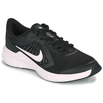 Boty Děti Multifunkční sportovní obuv Nike DOWNSHIFTER 10 GS Černá / Bílá