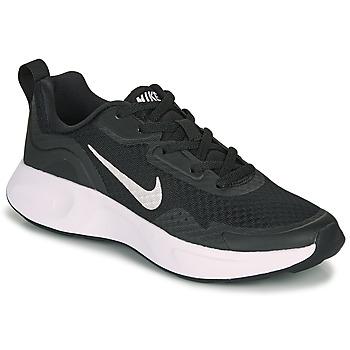 Boty Děti Multifunkční sportovní obuv Nike WEARALLDAY GS Černá / Bílá