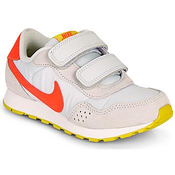 Boty Dívčí Nízké tenisky Nike MD VALIANT PS Béžová / Červená