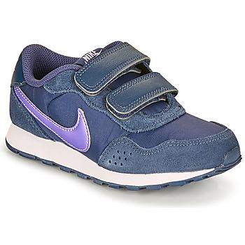 Boty Děti Nízké tenisky Nike MD VALIANT PS Modrá
