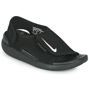 Boty Děti pantofle Nike SUNRAY ADJUST 5 V2 PS Černá