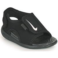 Boty Děti pantofle Nike SUNRAY ADJUST 5 V2 TD Černá