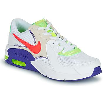Boty Děti Nízké tenisky Nike AIR MAX EXCEE AMD GS Bílá / Modrá / Červená